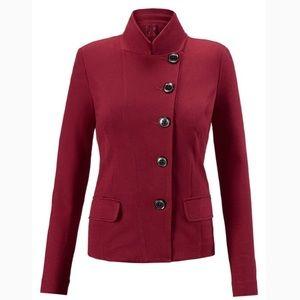 NWOT cAbi red outing blazer